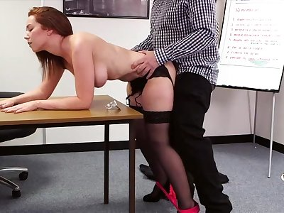 Ladies' with a small pecker fucks gorgeous Candi Blows from defeat