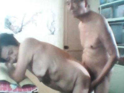 Asian Granny and gramp webcam