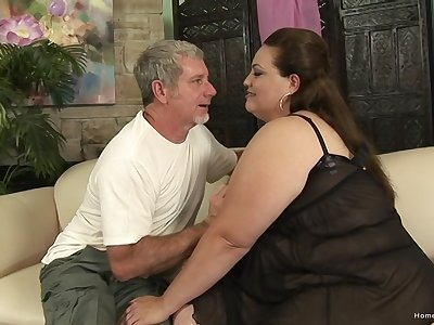 Excellent exposed amateur porn less a marketable BBW avid be worthwhile for cock