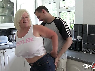 Well aged and well preserved british lady enjoying truly hardcore sexual intercourse