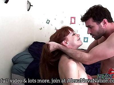 James Deen & Alexa Morning star anal sextape