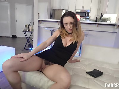 Sweet mom pleases stepson with the mould blowjob