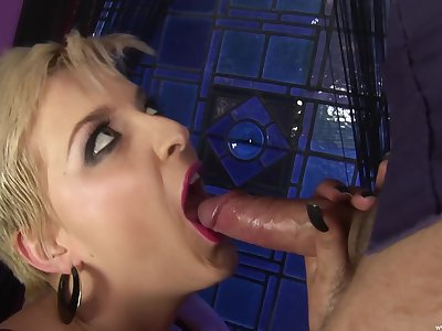 After a long day nothing is good for Tilly Hardy like ramming a cock