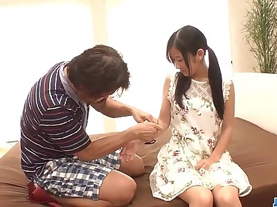 Suzu Ichinose fantasy making love with an older man - More at 69avs com