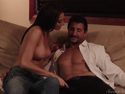 X-rated porno peel where pornstar Silvia Saige gets fucked everlasting
