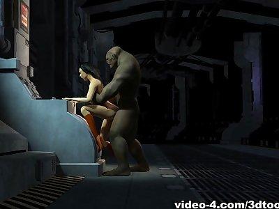 Wonder Floozie Is Trolling For Cock - 3DToonTube