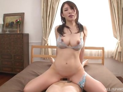 Japanese with large boobs, habitation cock riding porn special