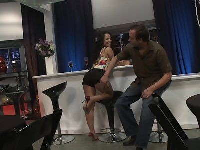 Pussy yearn from requital for trimmed pussy Kristina Rose